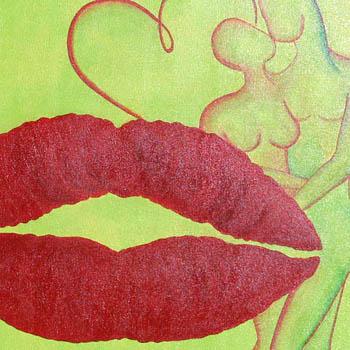 Kuss - Ausschnitt