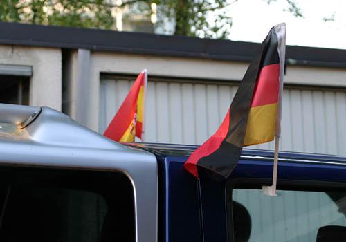 Spanien : Deutschland